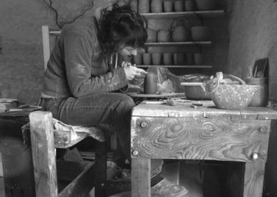 Zoé Cercler / L'atelier poterie